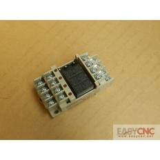 G6B-4BND G6B-1114P 24VDC Omron relay and pedestal new