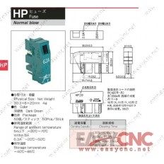 A60L-0001-0194/HP05 Fanuc fuse daito HP05 0.5A new and original