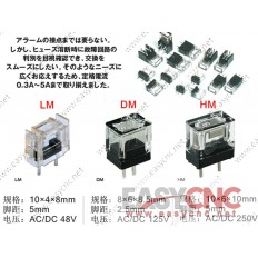 A60L-0001-0290/LM05C Fanuc fuse daito LM05C 0.5A new and original