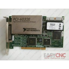 PCI-6032E National instruments capture card used